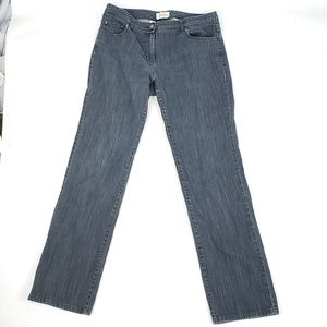 Talbots stretch jeans pants size 8 staight leg